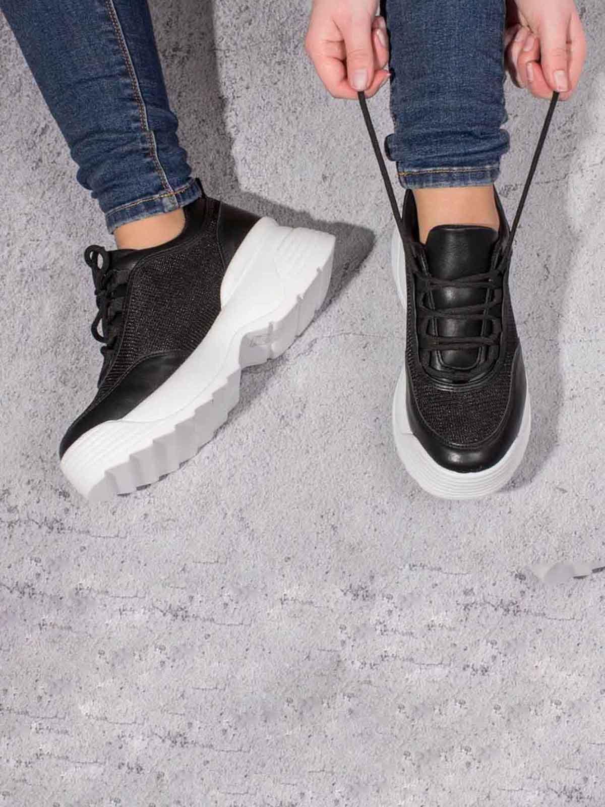 Кроссовки черные | 5643071