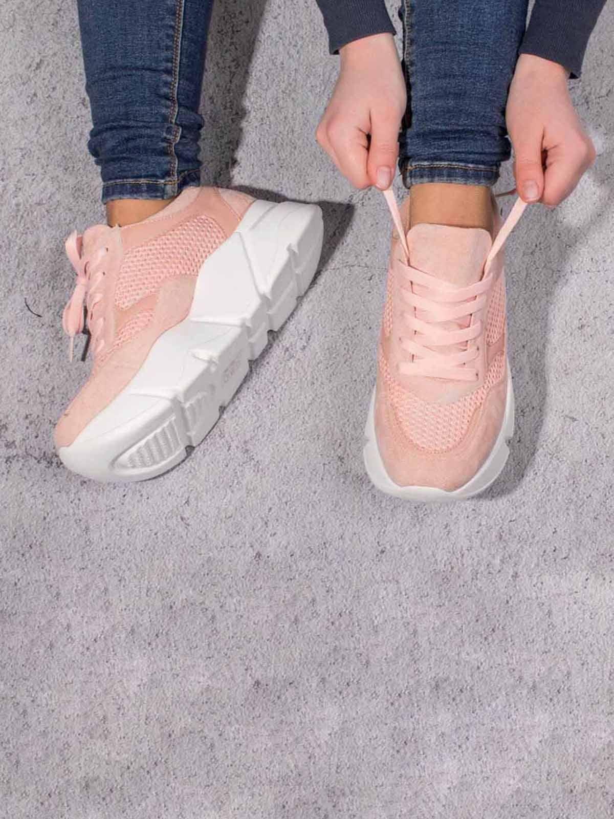 Кросівки рожеві | 5643089