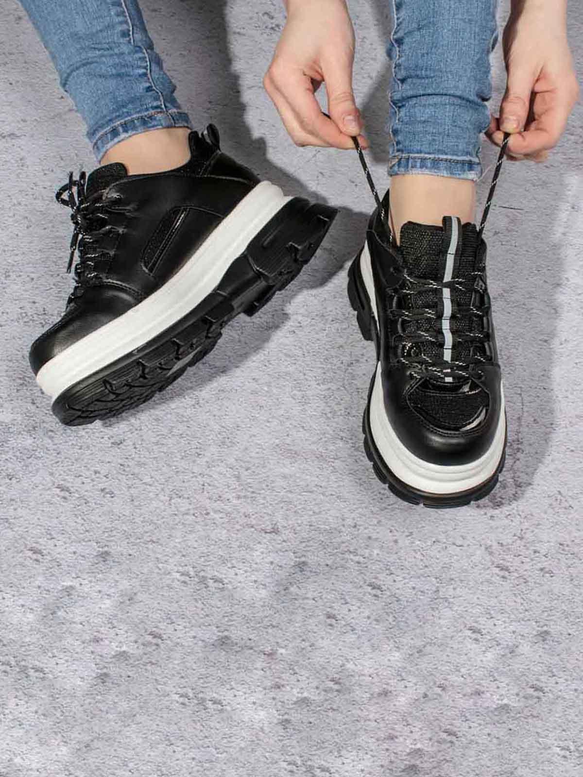 Кроссовки черные | 5643141