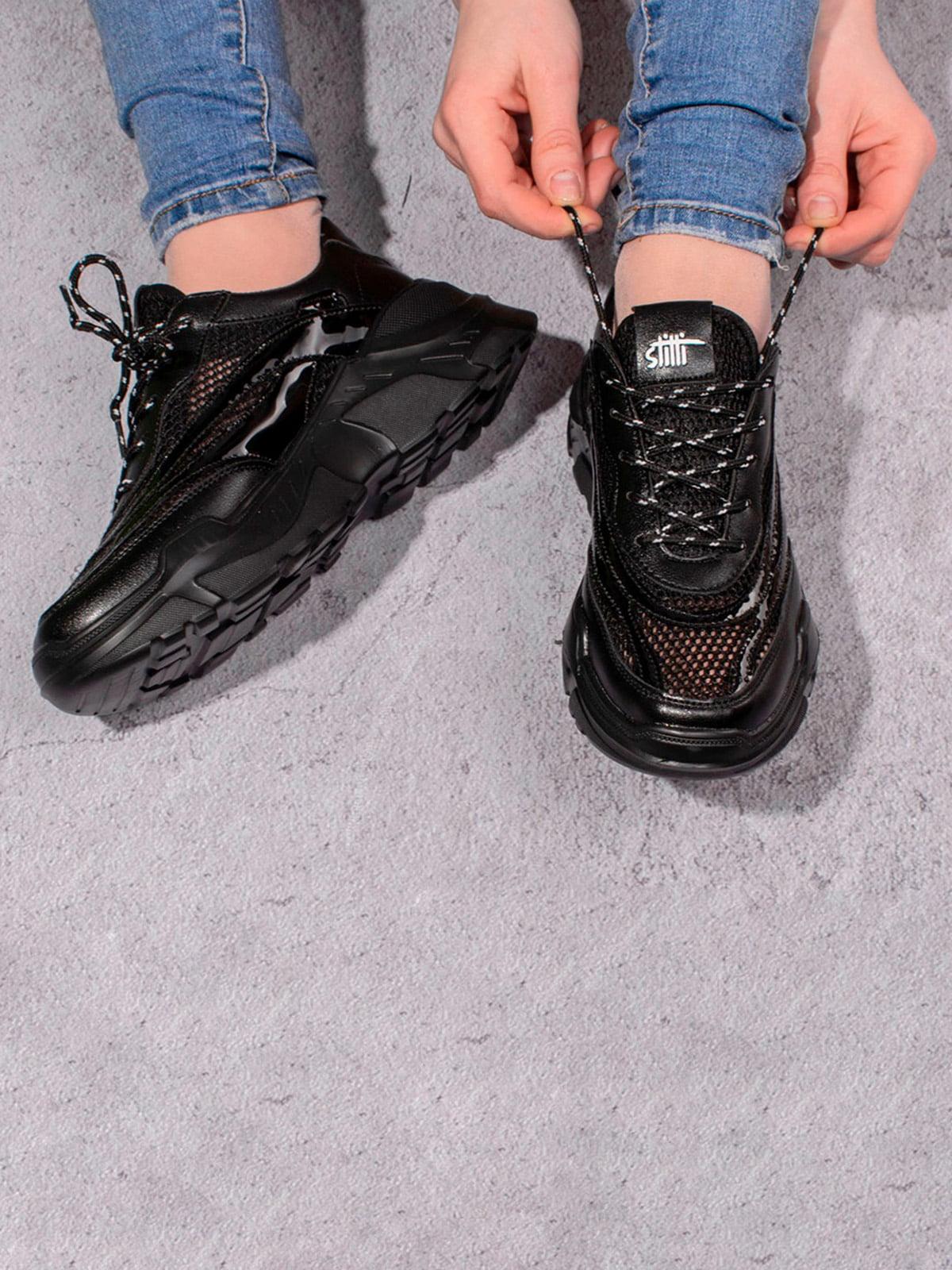 Кроссовки черные | 5643210