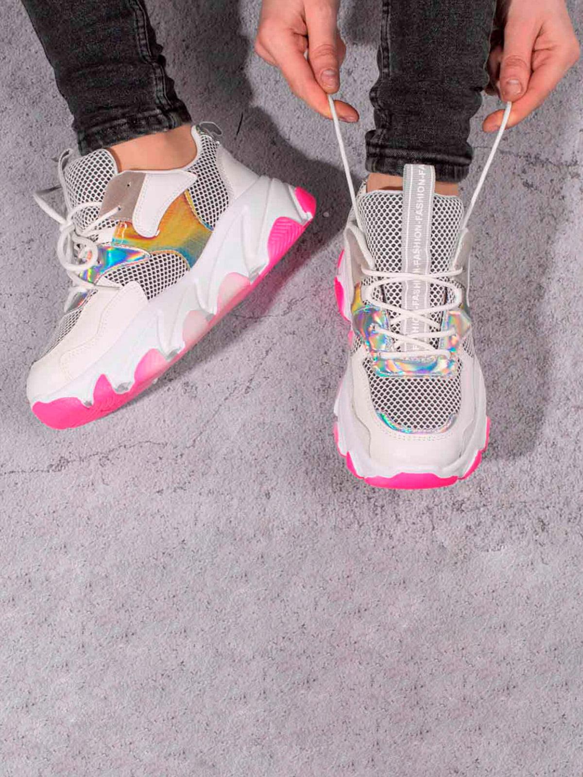 Кроссовки разноцветные | 5643234