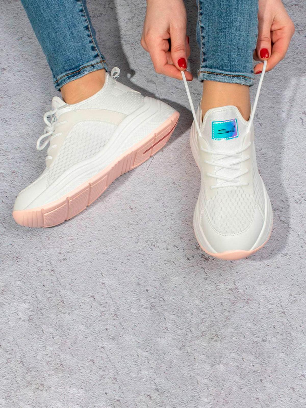 Кросівки білі | 5643296
