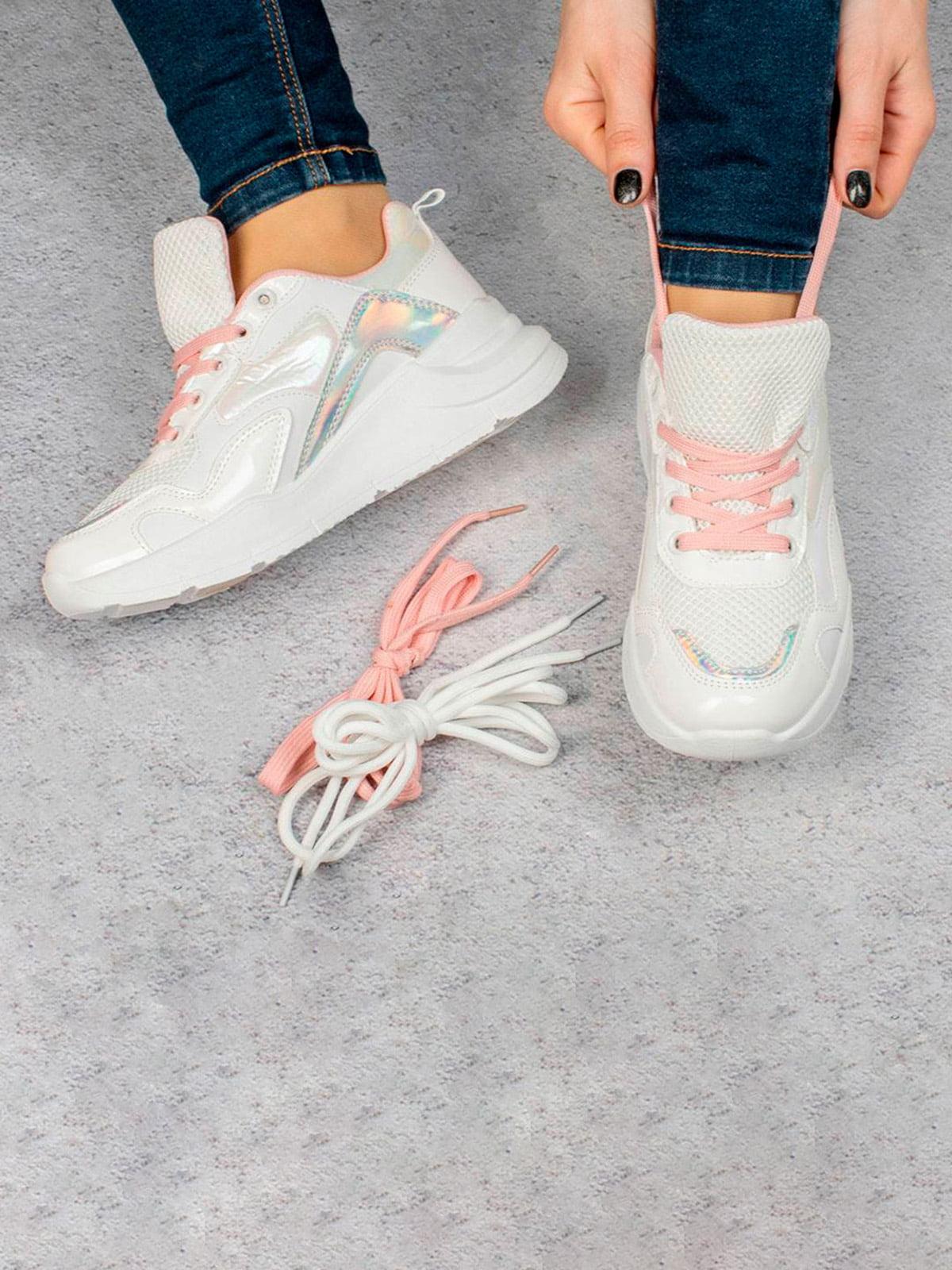 Кроссовки белые | 5643352