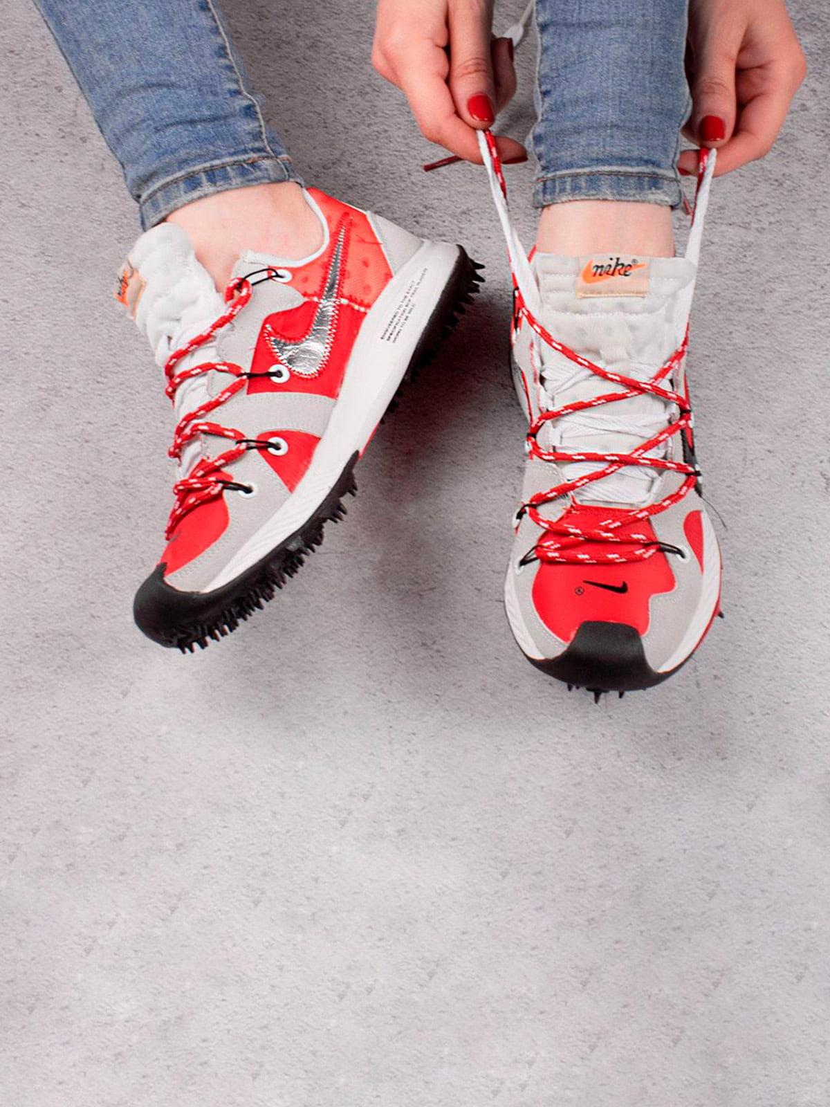 Кроссовки двухцветные | 5643515