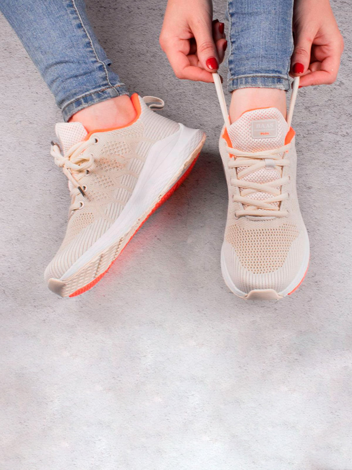 Кросівки бежеві | 5643570