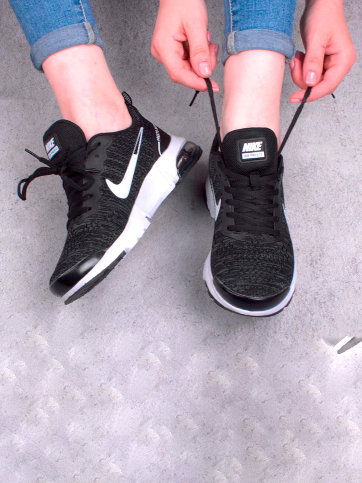 Кросівки чорні | 5643754