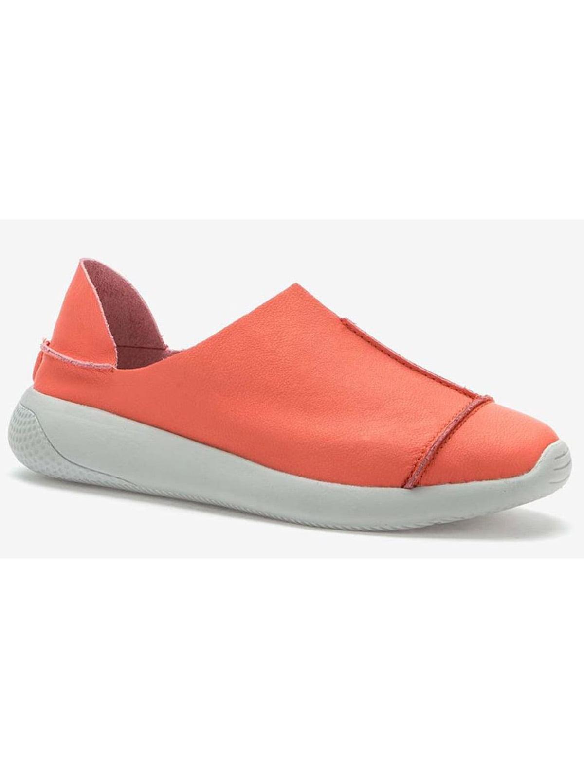 Мокасины оранжевые   5696932