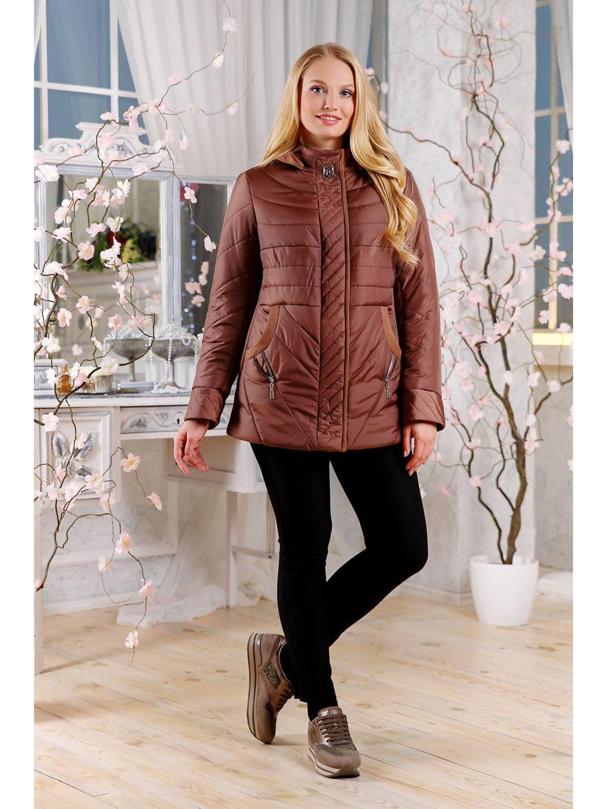 Куртка коричневая | 5699854
