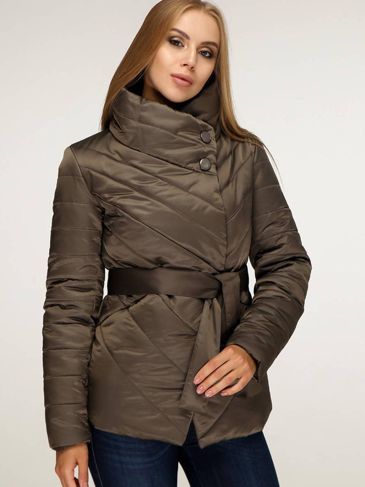 Куртка цвета хаки | 5699874