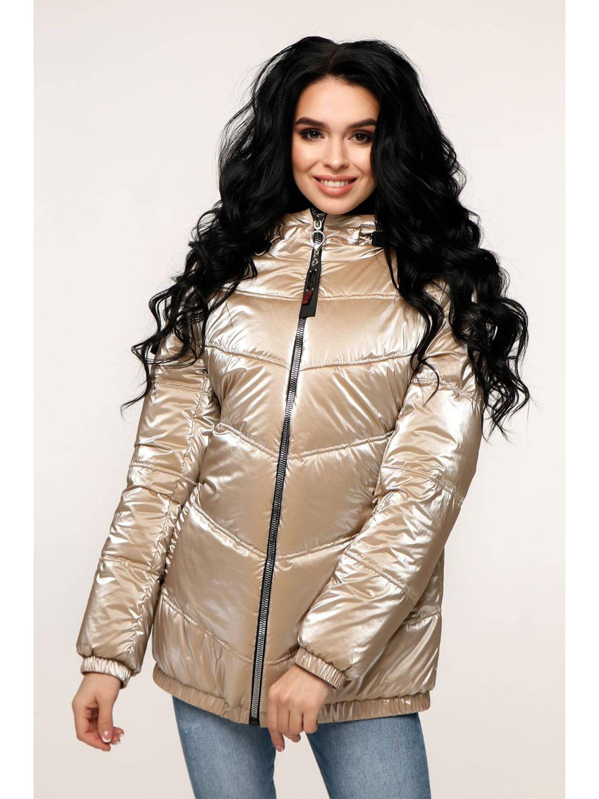 Куртка бежевая   5699885