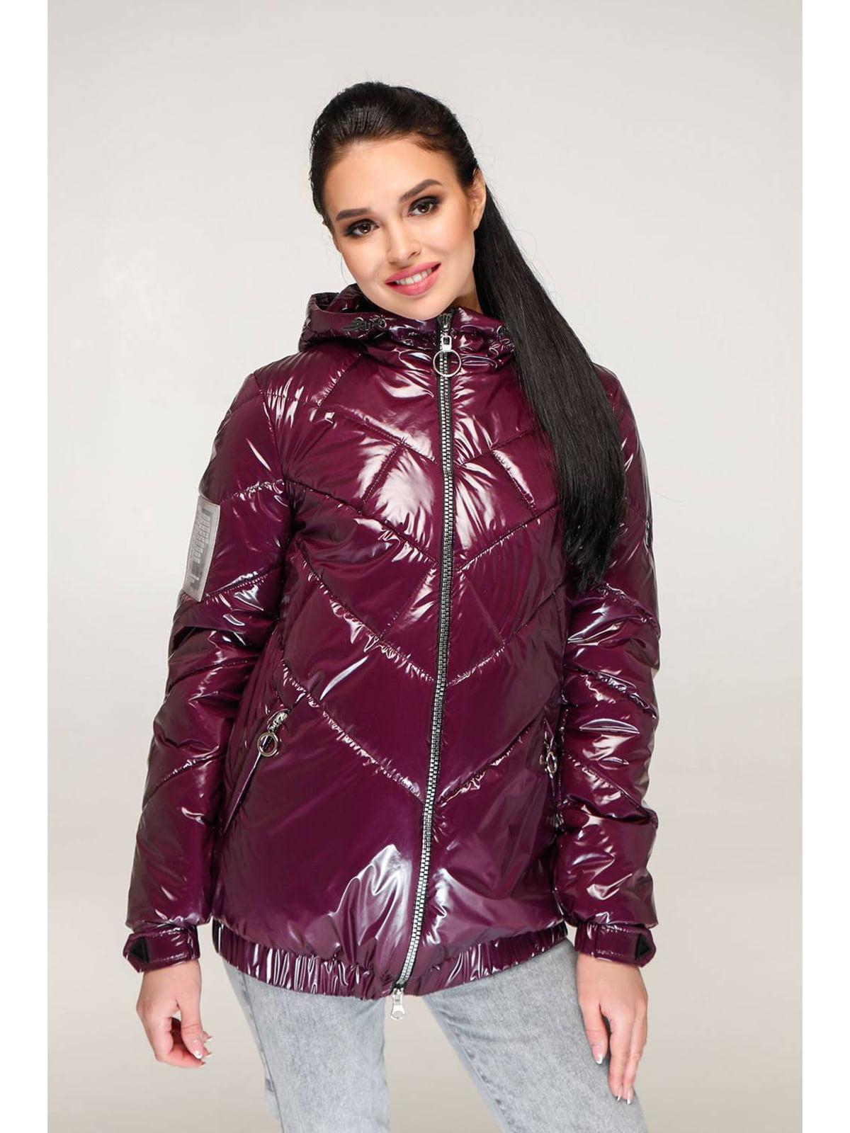 Куртка бордовая | 5699912