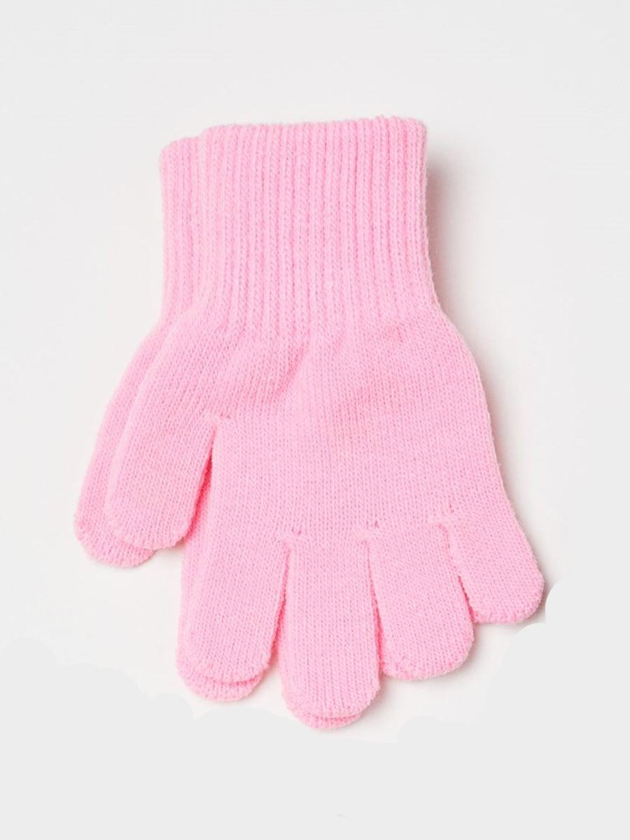 Перчатки розовые   5683353