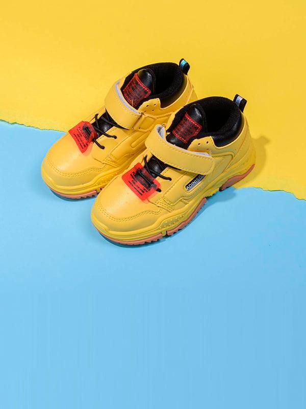 Кроссовки желтые | 5642654