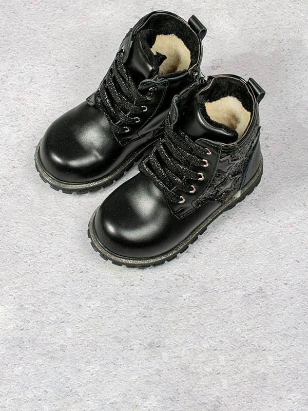 Ботинки черные | 5648052