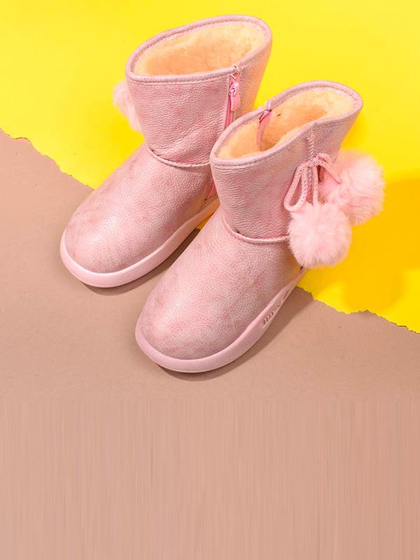 Сапоги розового цвета   5648467