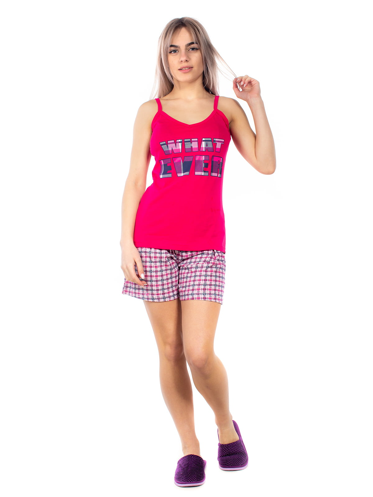 Пижама: майка и шорты | 4356858