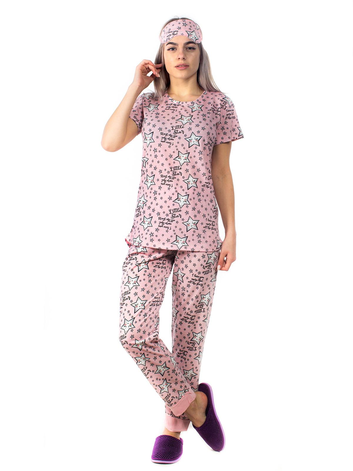 Піжама: футболка і штани | 5704258