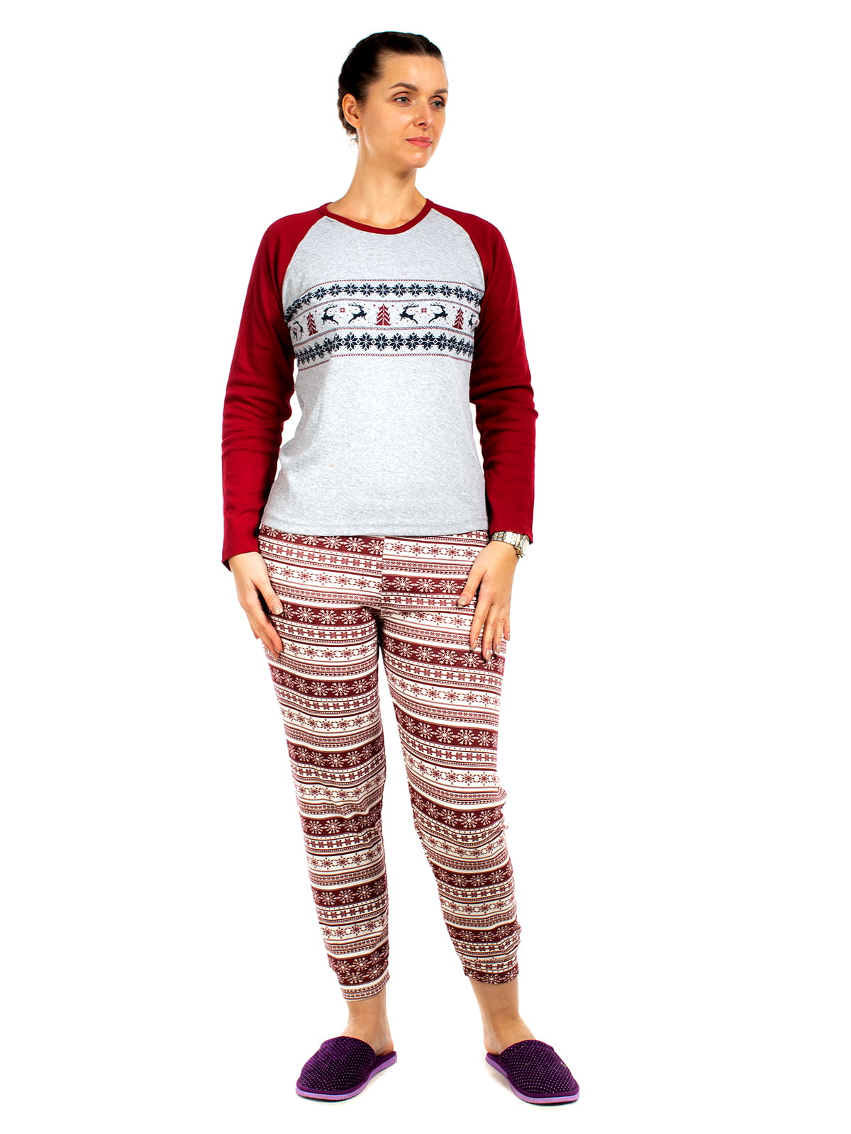 Пижама: реглан и брюки | 5704280