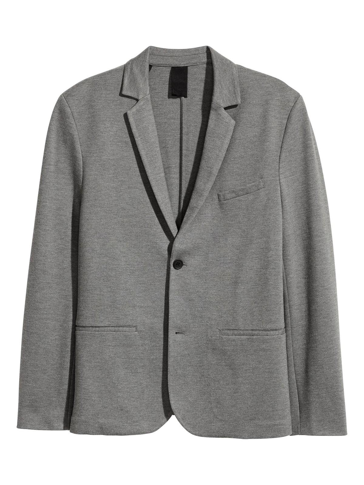 Піджак сірий | 5632551