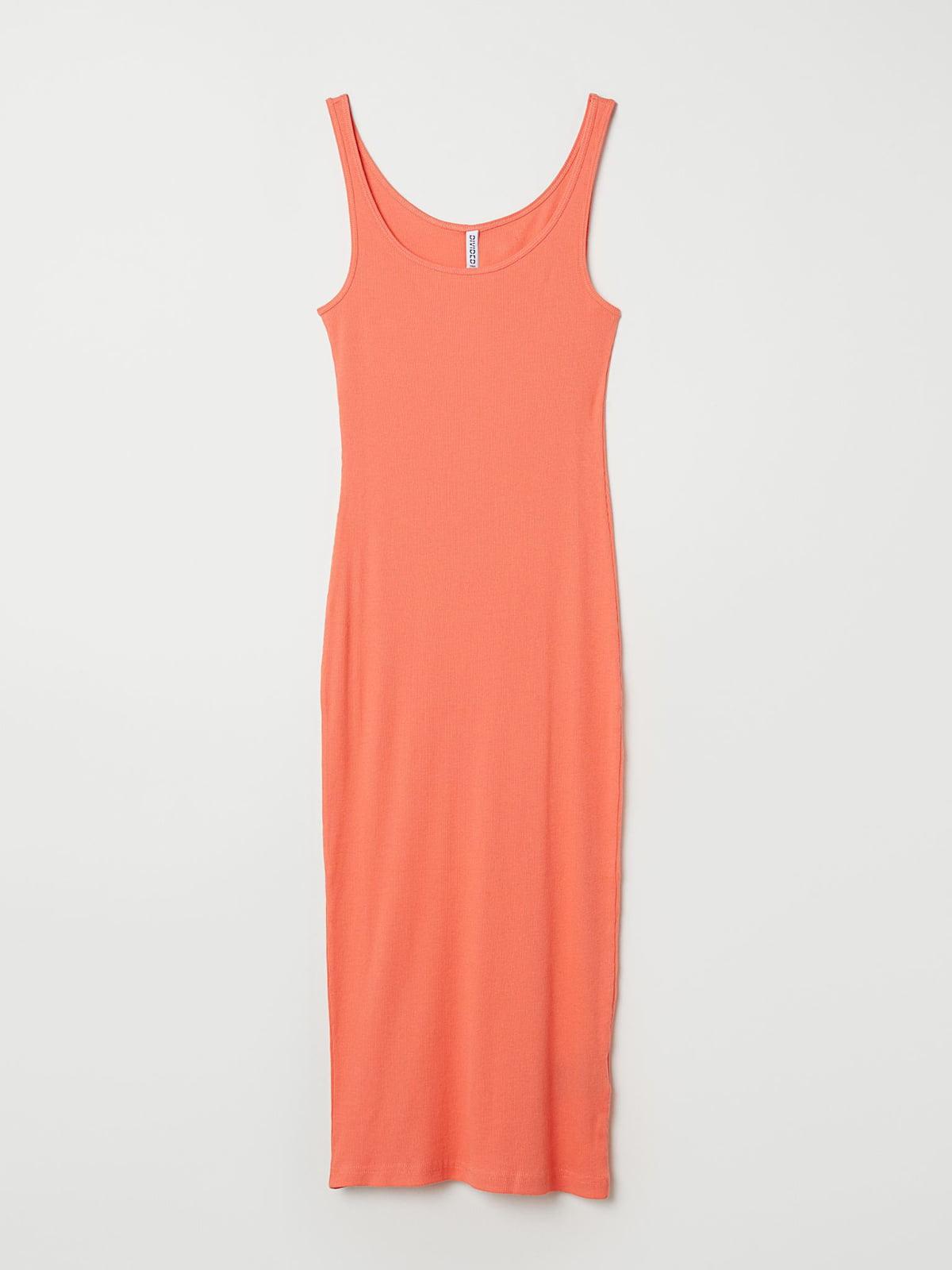 Сукня помаранчевого кольору   5704603