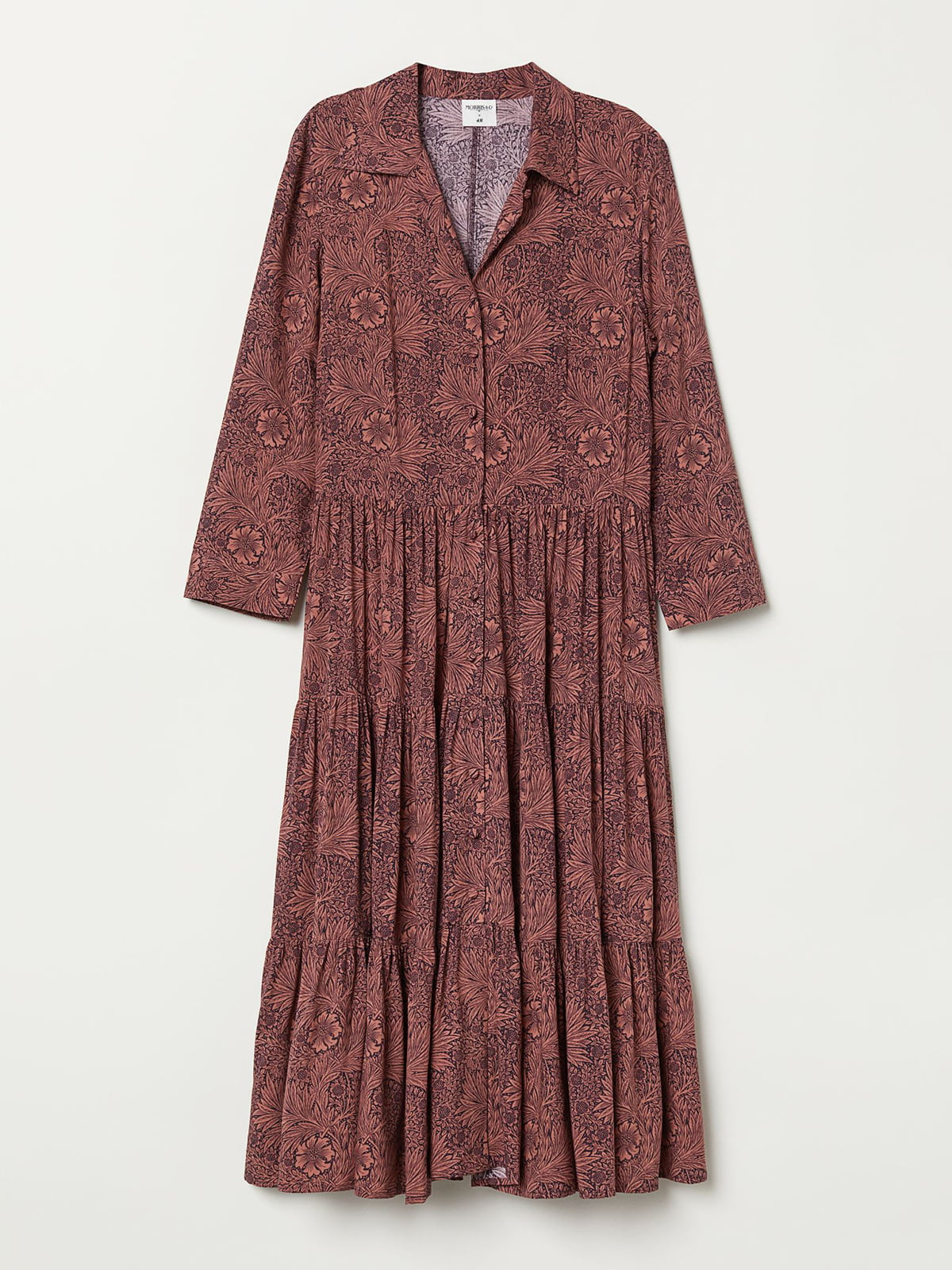 Сукня темно-рожева в принт   5704713