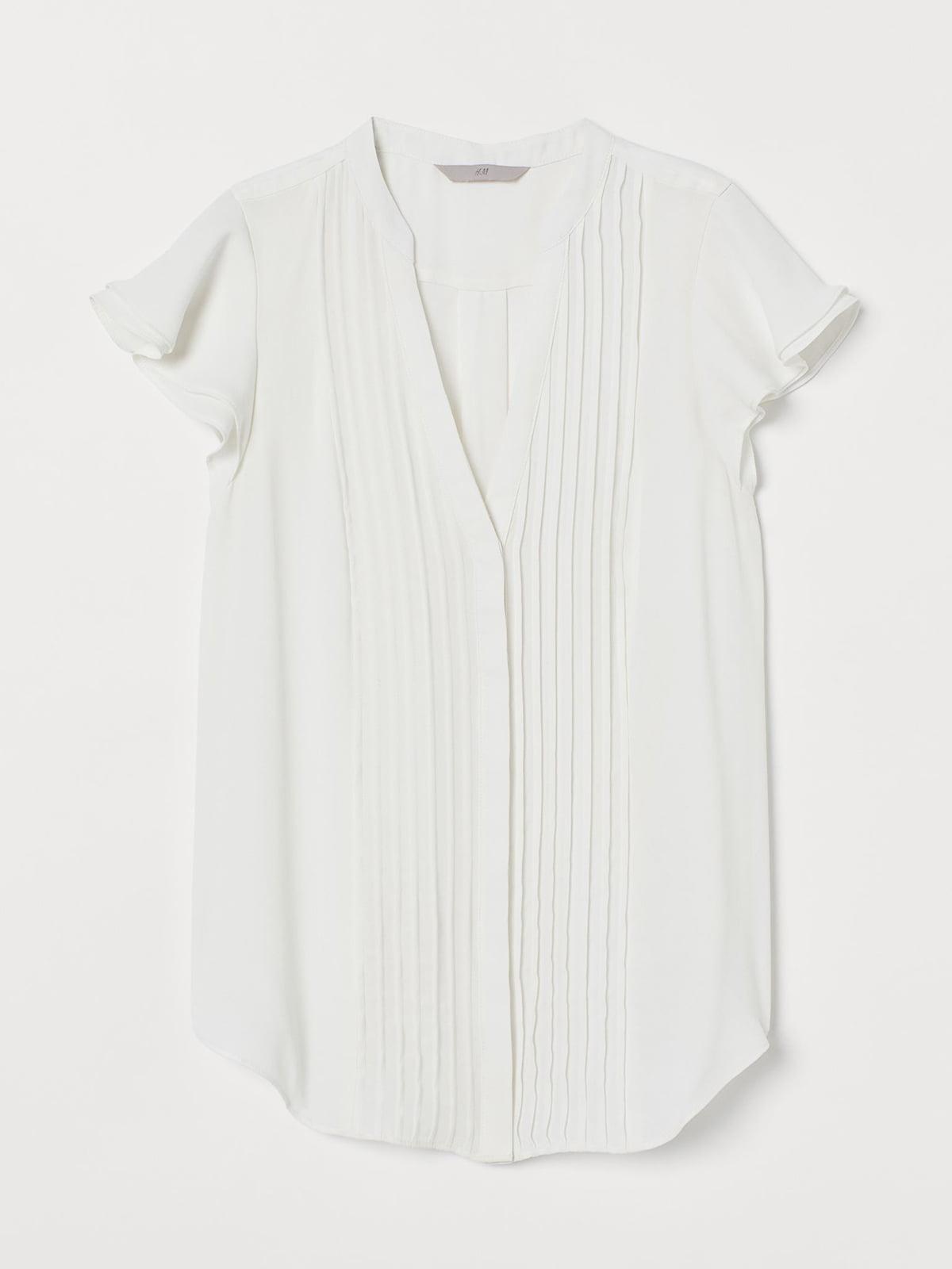 Блуза молочного кольору | 5704973