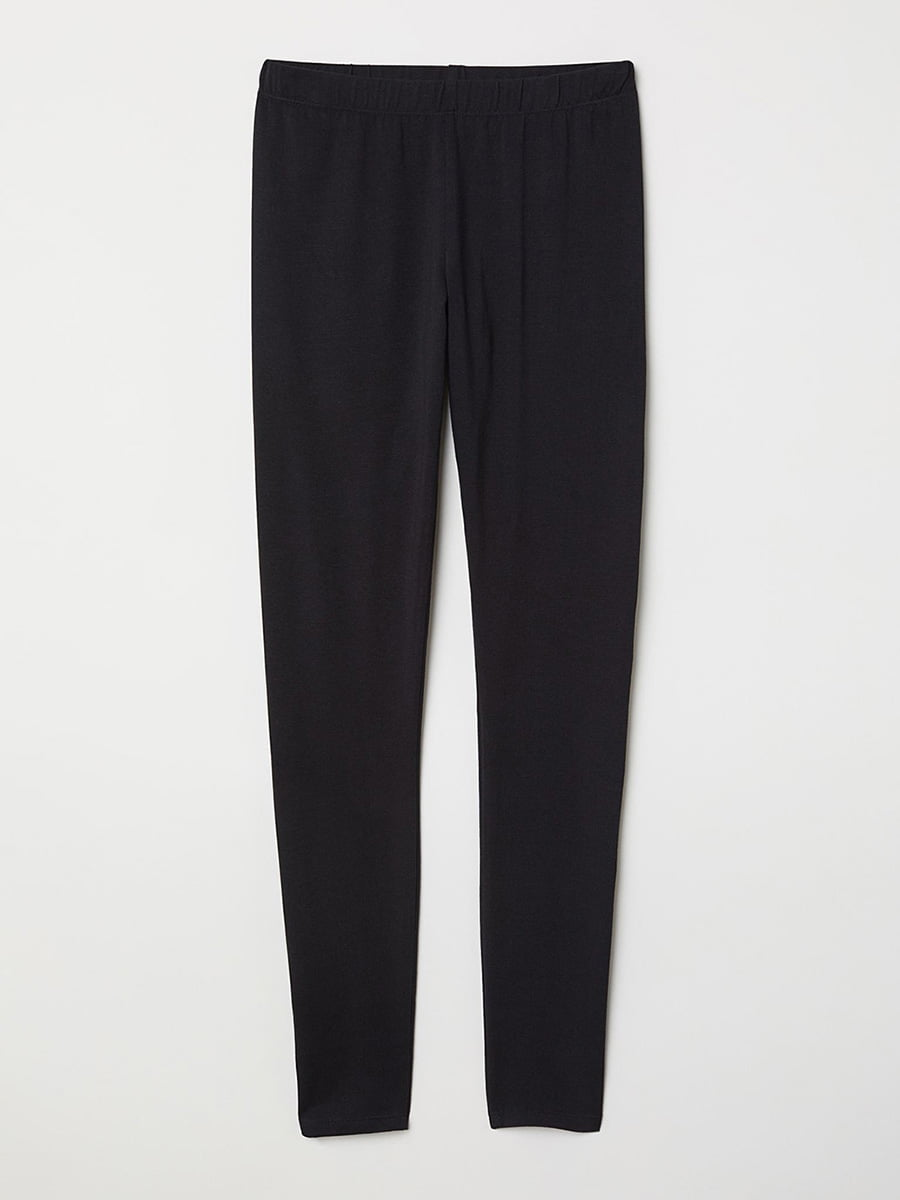 Легінси піжамні чорні | 5705070