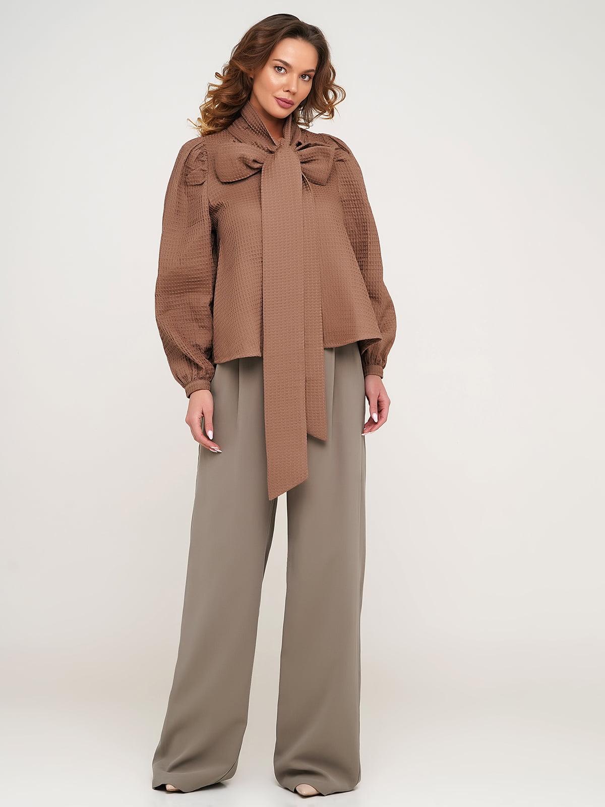 Блуза коричневая | 5705732