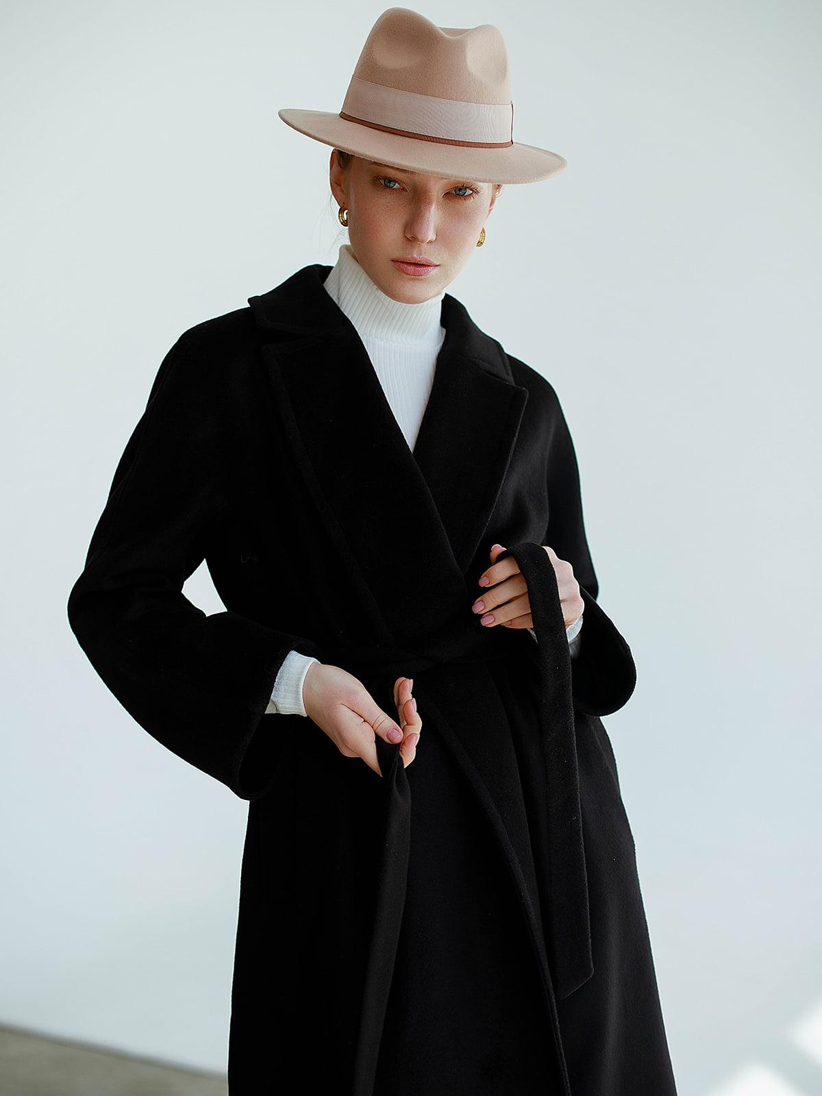 Пальто черное   5705731