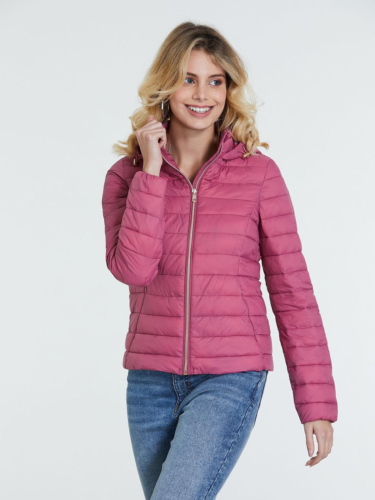 Куртка пудрового цвета | 5686555