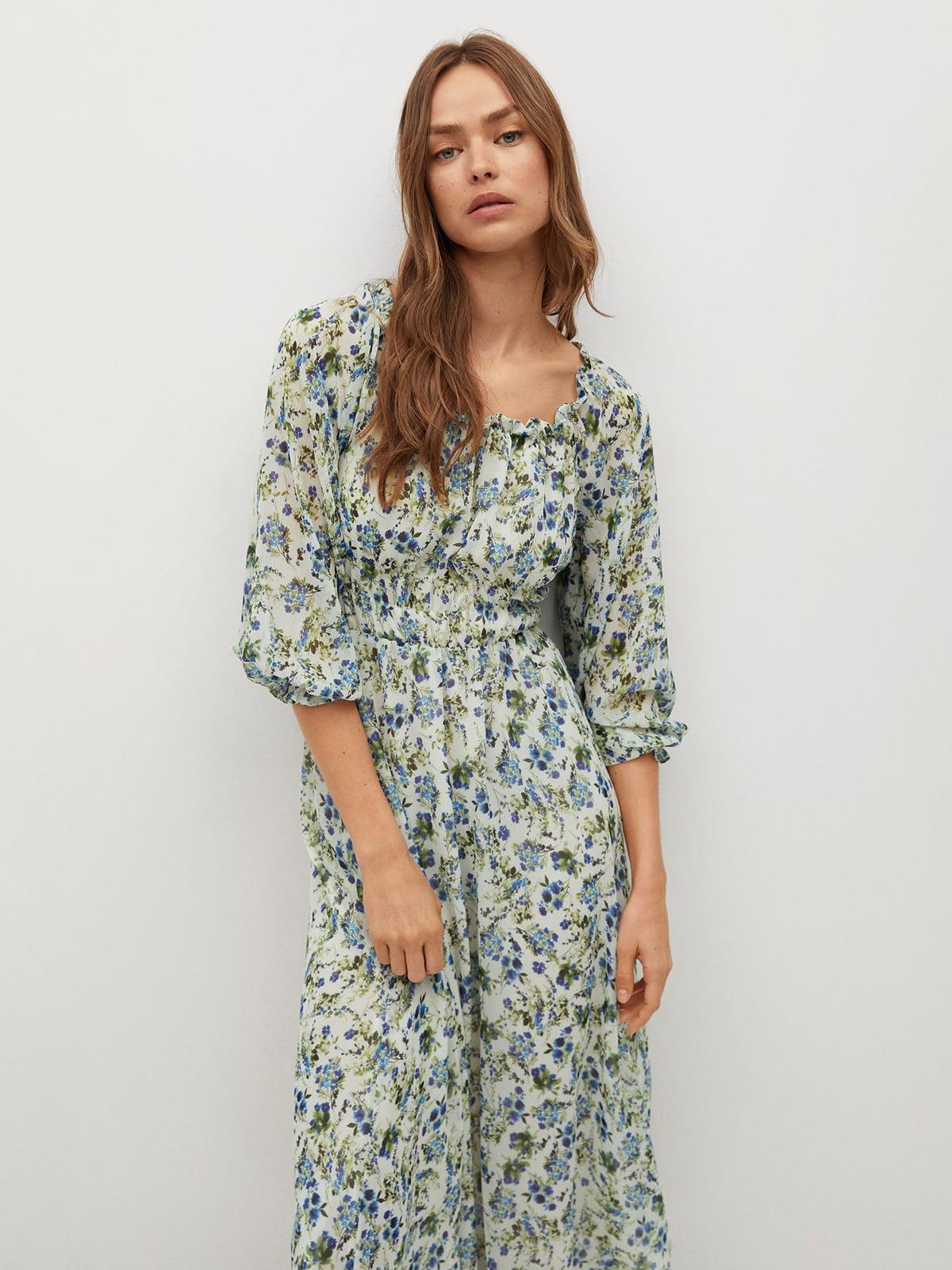 Платье с цветочным принтом   5708031