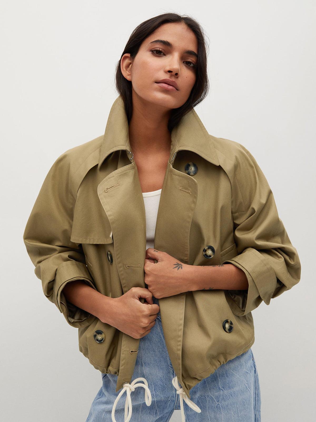 Куртка коричневого цвета | 5708085