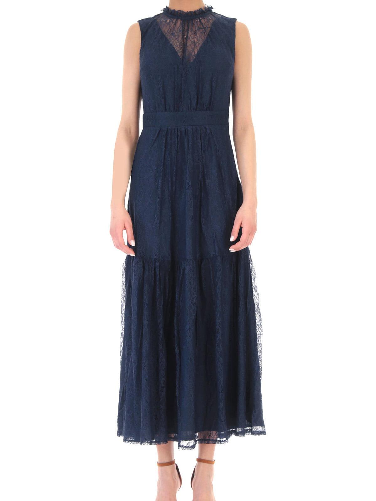 Платье синее   5656768