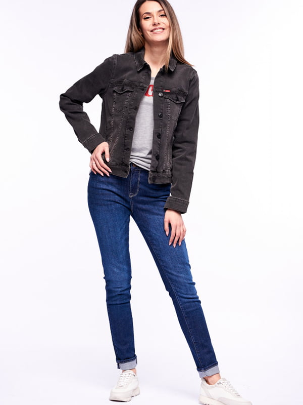 Куртка джинсовая серая | 5687122