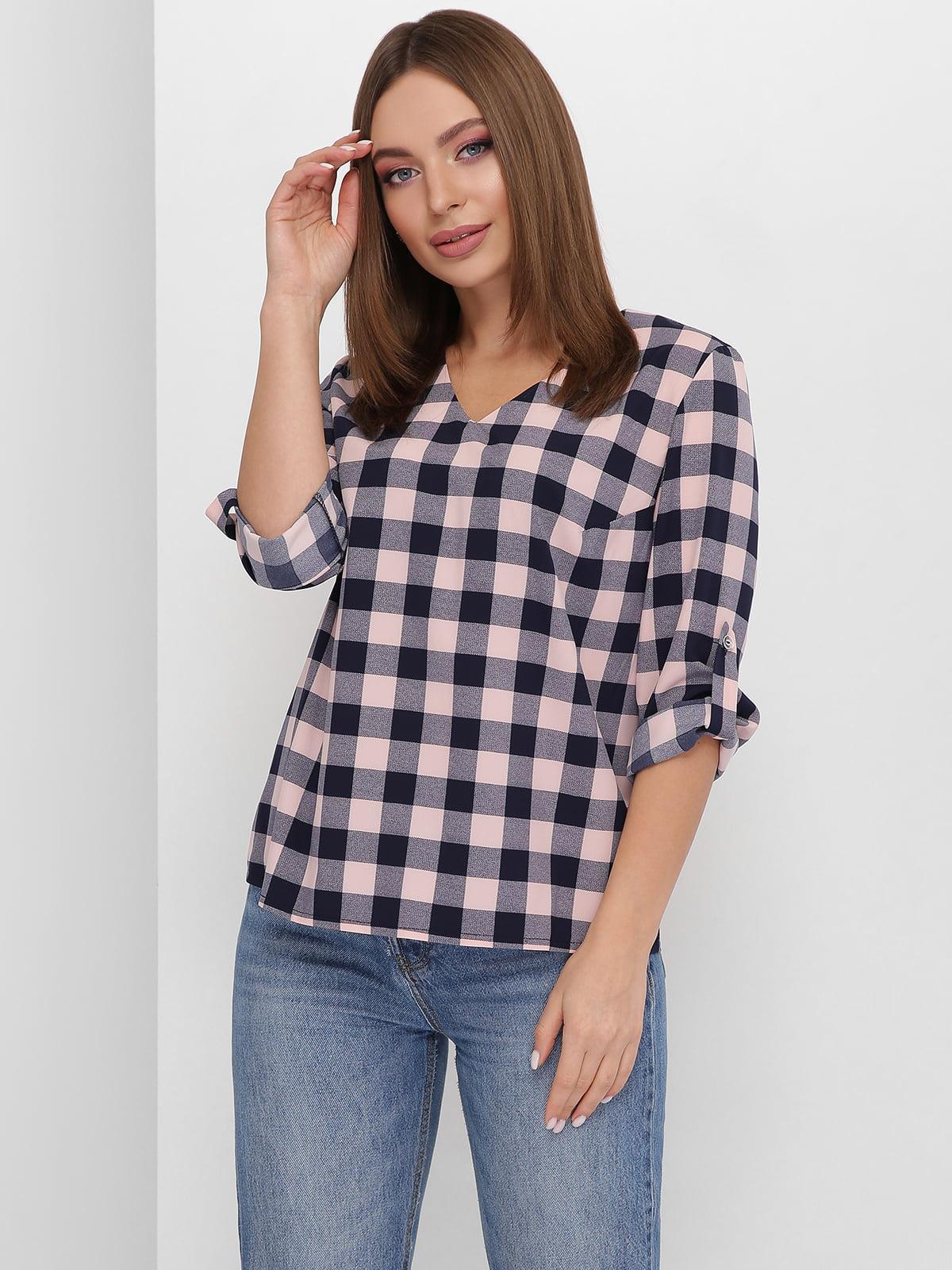 Блуза в клітинку | 5711756