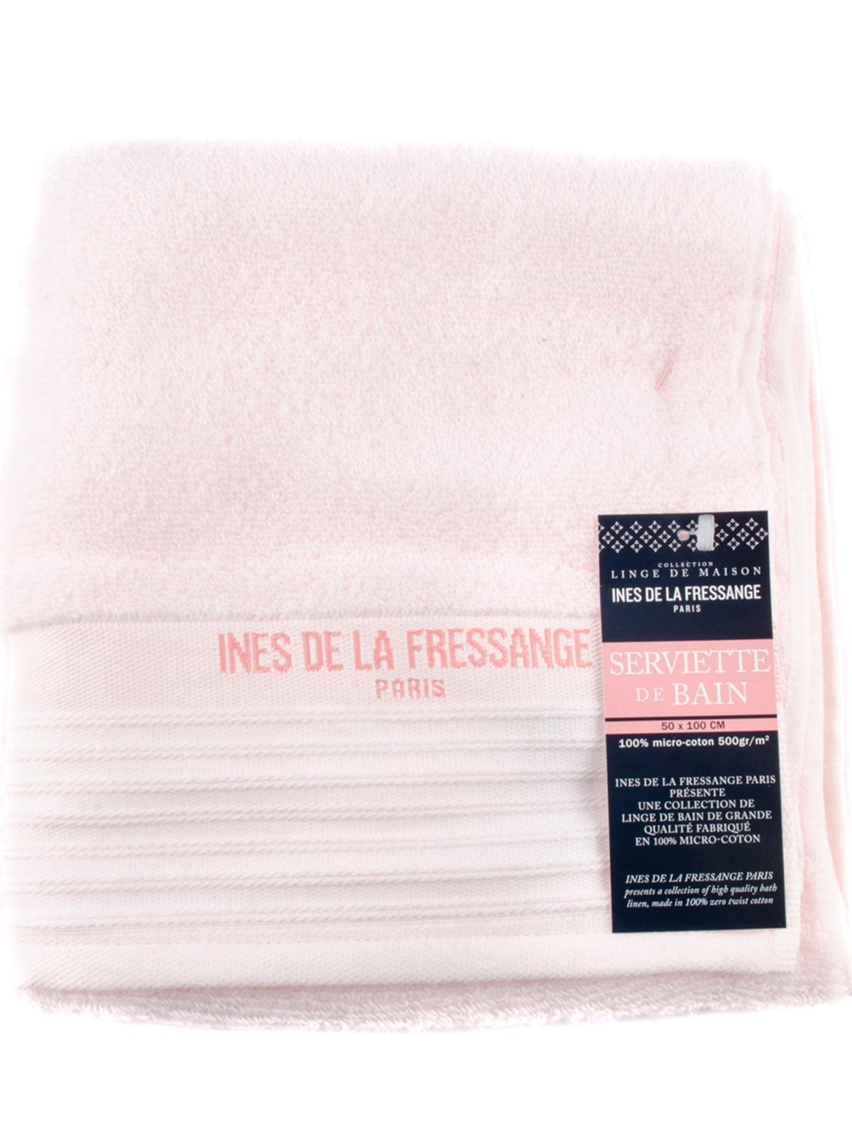 Полотенце розовое | 5690799