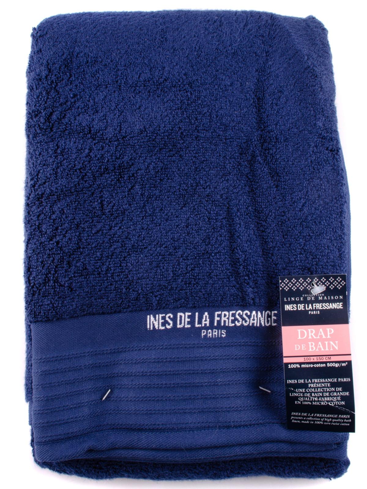 Полотенце синее | 5690805