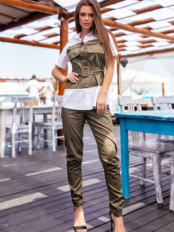 Костюм: блуза і штани | 5715025