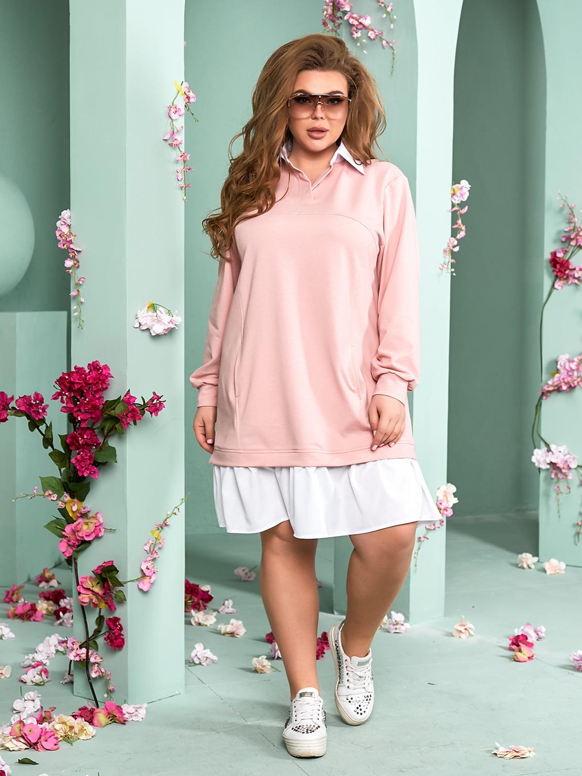 Сукня пудрового кольору  | 5715249
