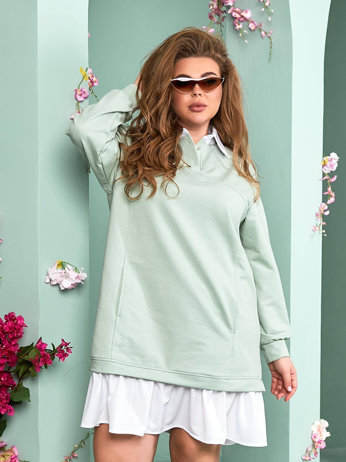 Сукня фісташкового кольору | 5715250