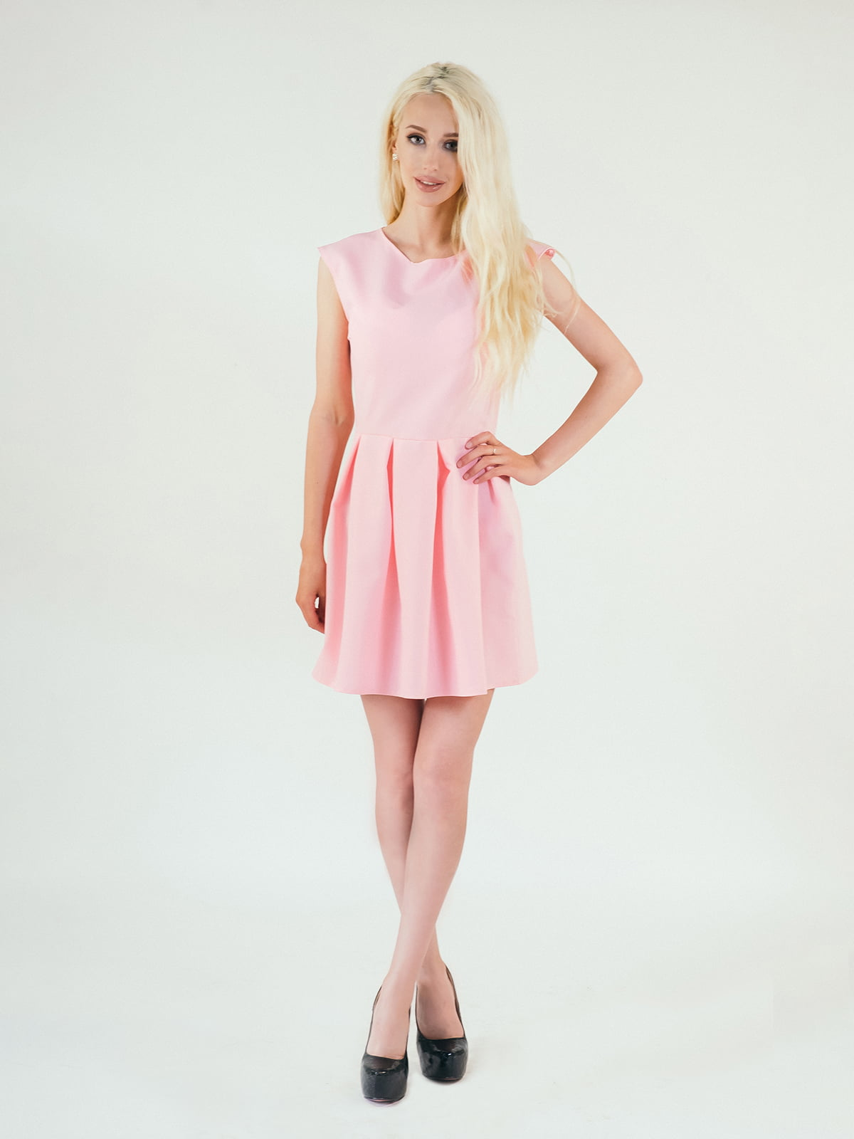 Платье розовое | 5035229