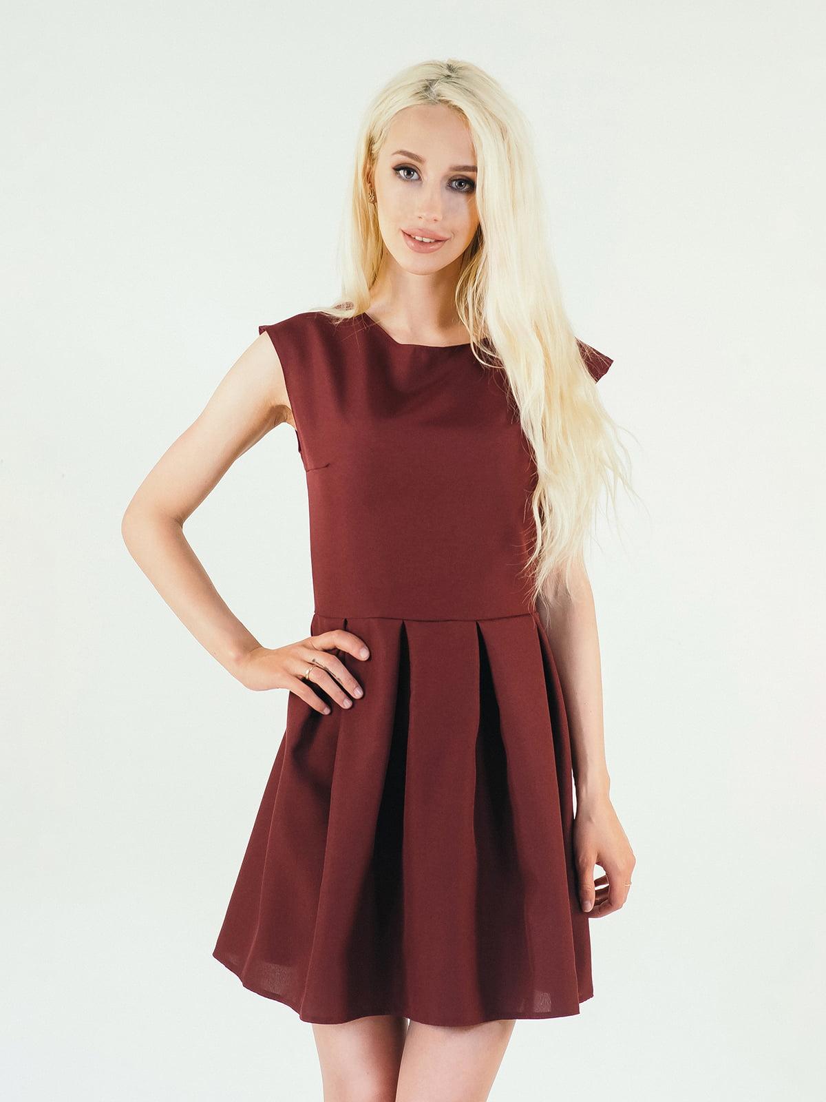 Платье бордовое | 5035333