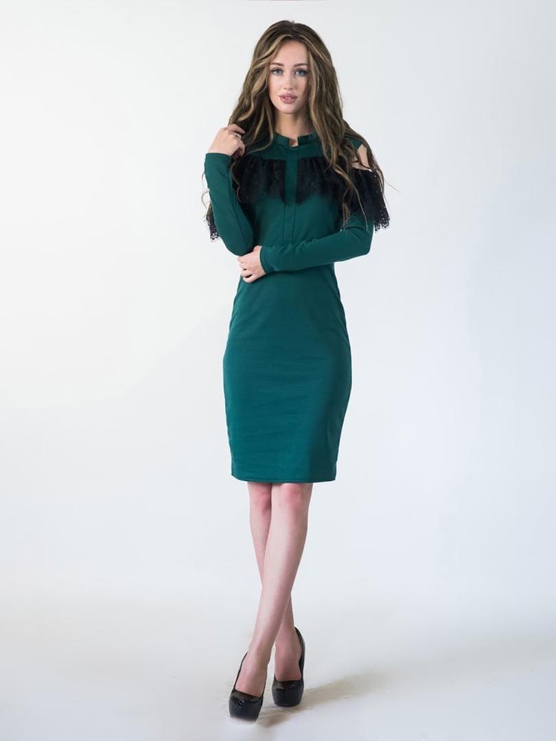 Платье зеленое | 5035346
