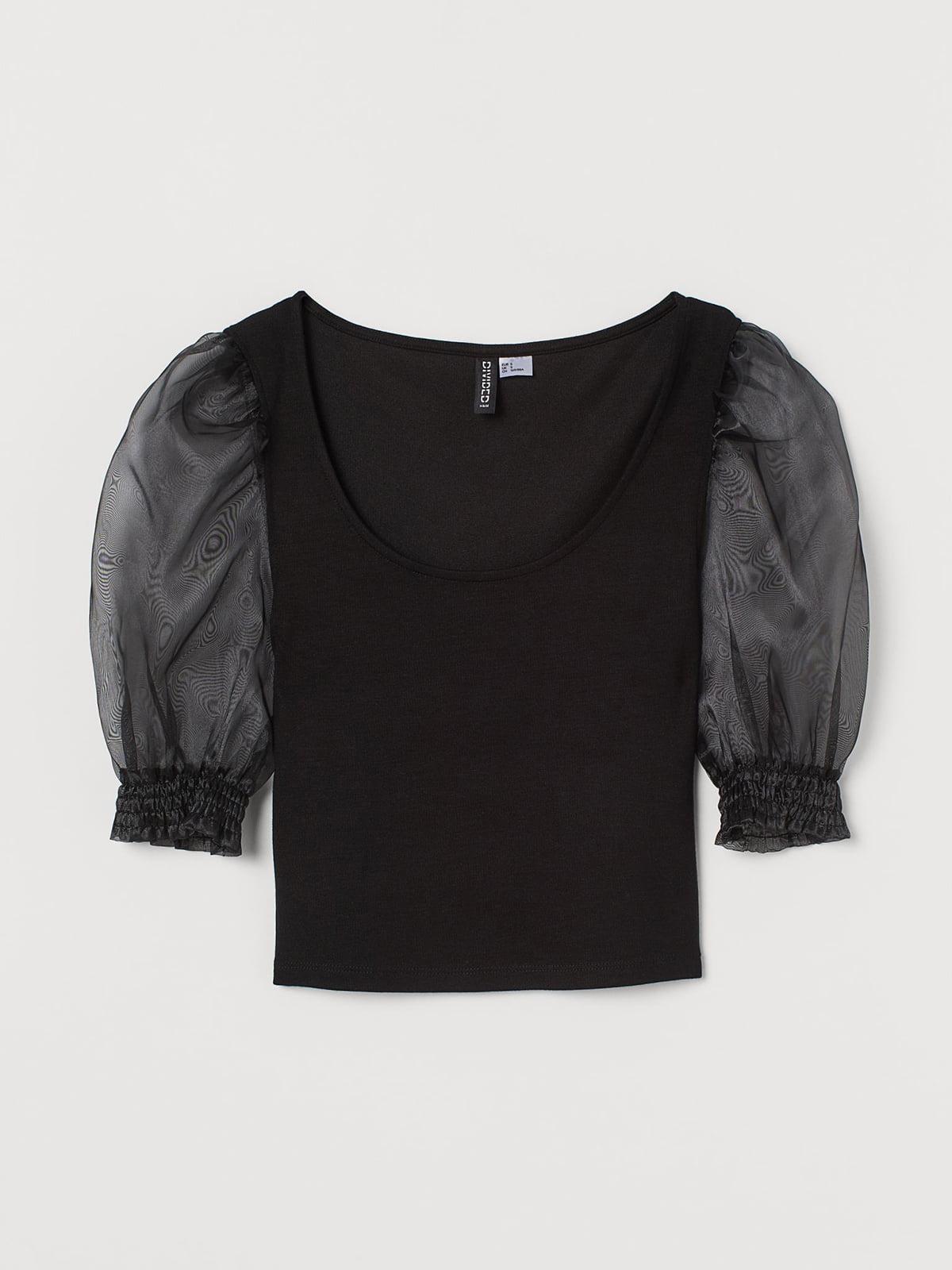 Блуза черная | 5702512