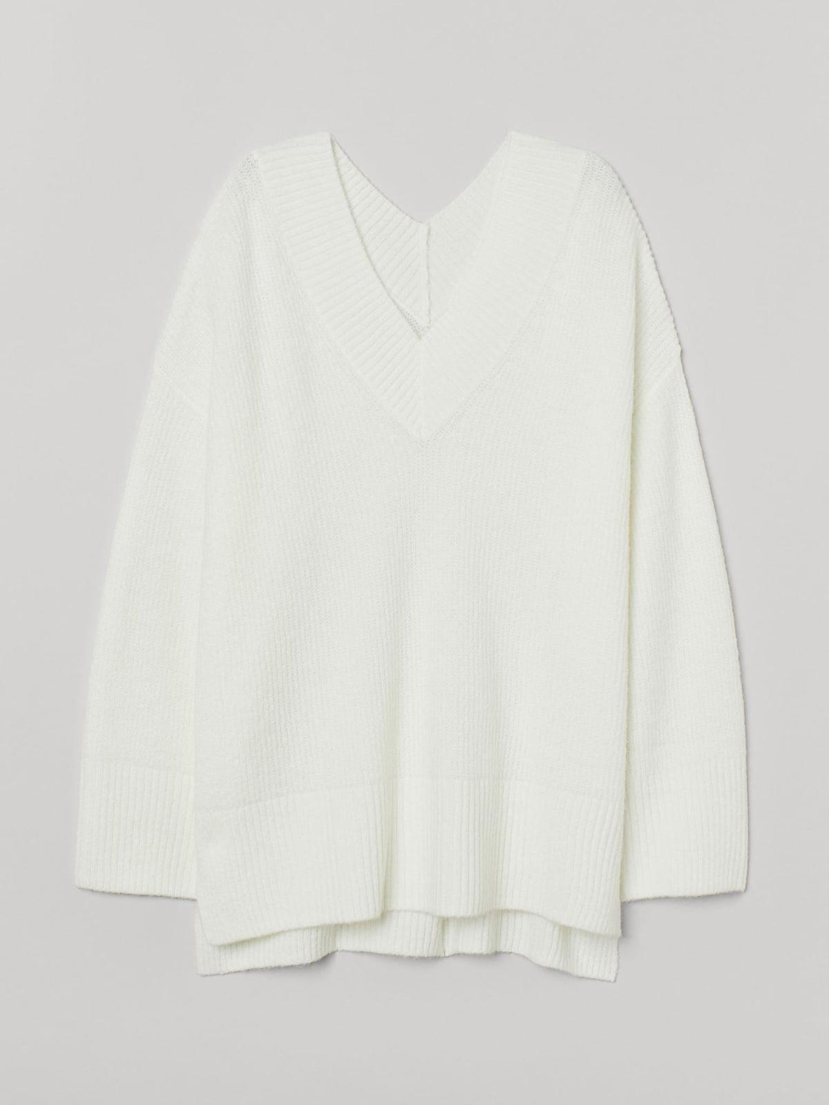 Пуловер белый | 5702521