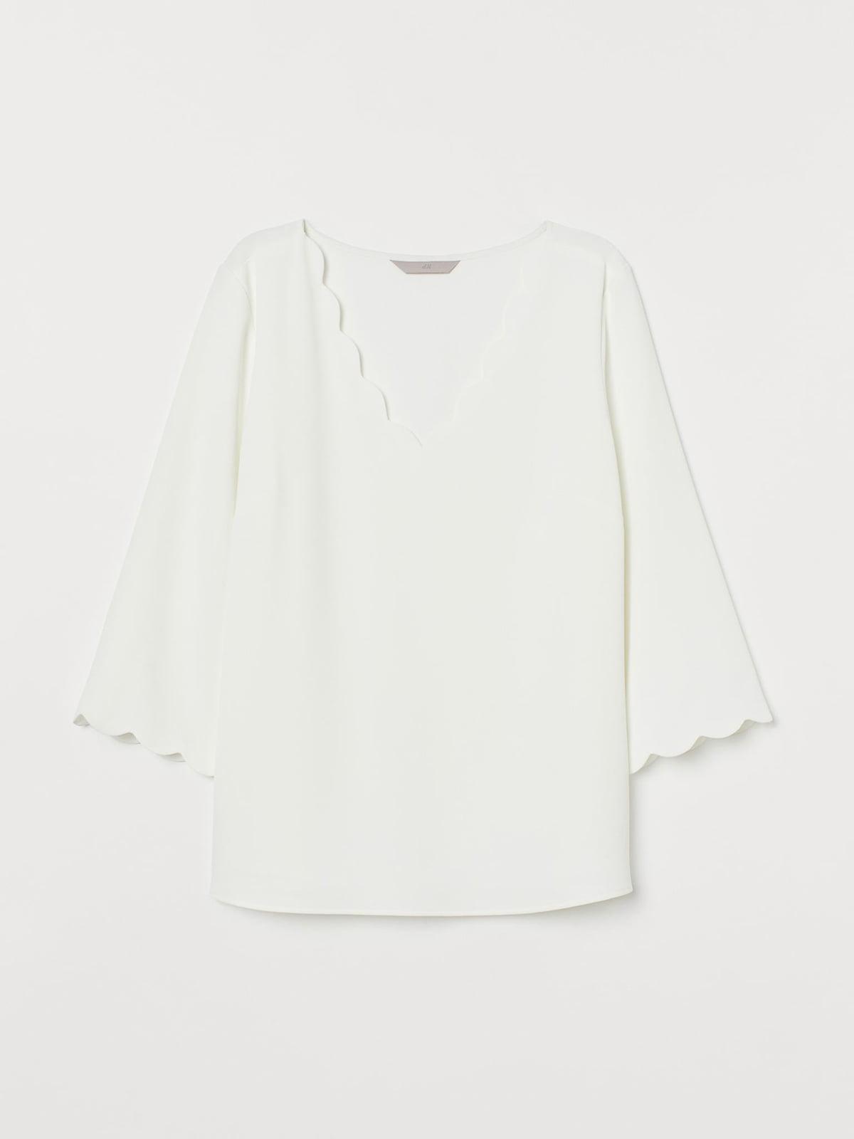 Блуза белая | 5702566