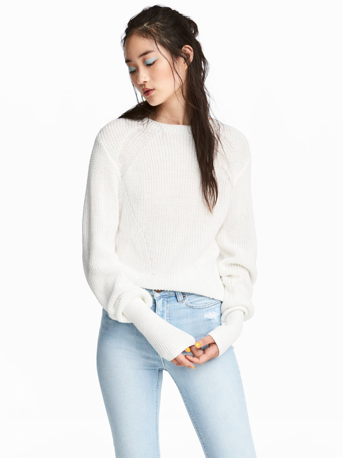 Джемпер белый | 5702584