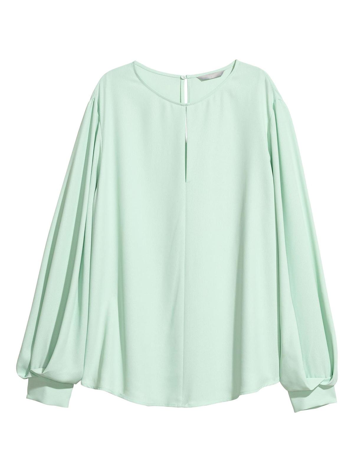 Блуза мятного цвета | 5702592