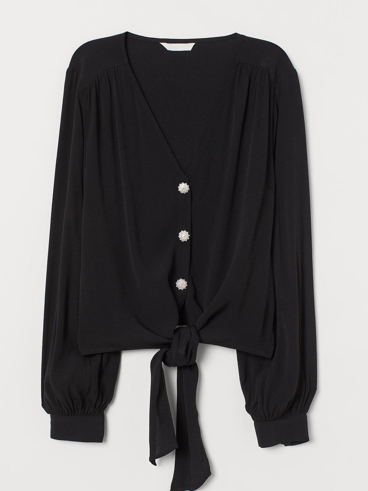 Блуза черная | 5702603