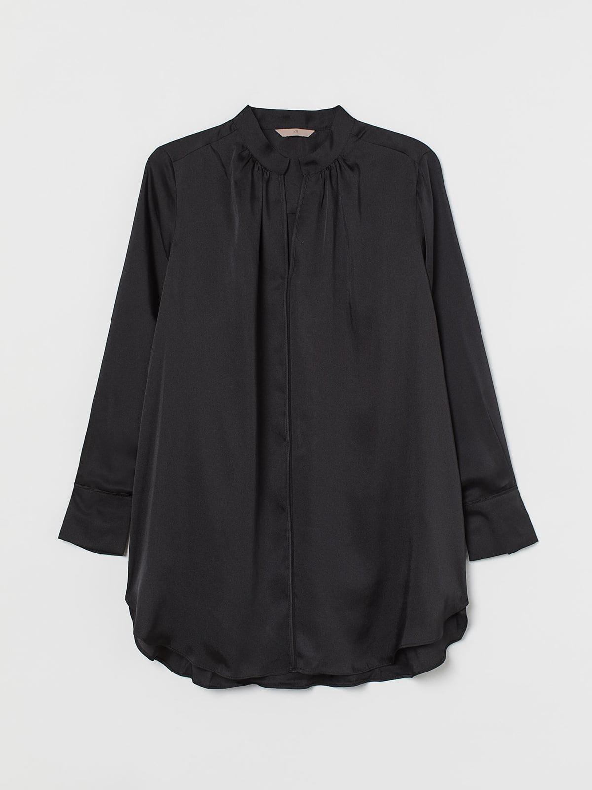 Рубашка черная | 5702621